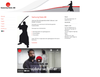 samurajdata.se screenshot