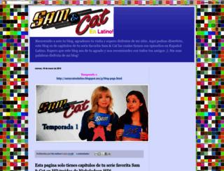 samycatenlatinoo.blogspot.mx screenshot