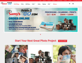 samyscamera.photofinale.com screenshot