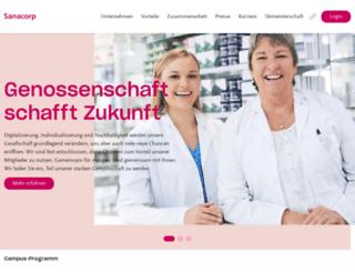 sanacorp.de screenshot