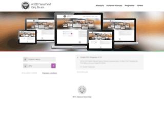sanalsinif.istanbul.edu.tr screenshot
