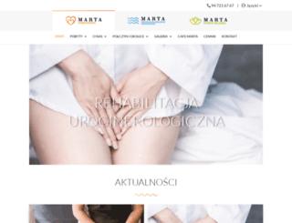 sanatoriummarta.pl screenshot