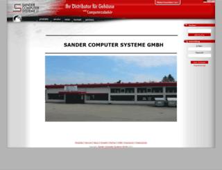 sander-europe.eu screenshot