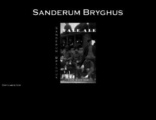 sanderum-bryghus.dk screenshot