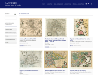 sanderusmaps.com screenshot