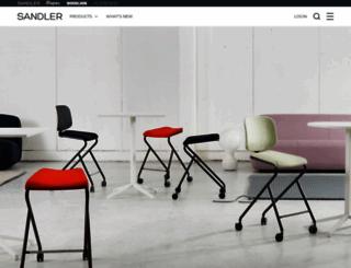 sandlerseating.com screenshot