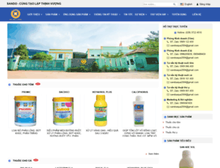 sando.com.vn screenshot
