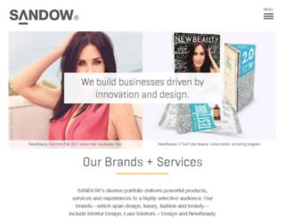 sandowmedia.com screenshot