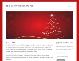 sandraconner.wordpress.com screenshot