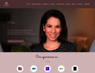 sandraiozzelli.com screenshot