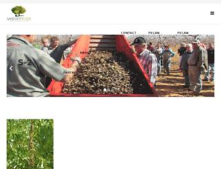 sandvetpecans.com screenshot