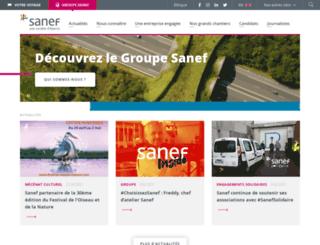 sanefgroupe.com screenshot