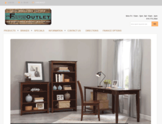 sanfordunfinishedfurniture.com screenshot