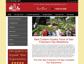 sanfranciscotoursf.com screenshot