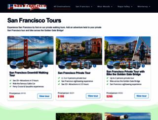 sanfranshuttletours.com screenshot