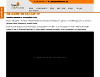sangattelevision.org screenshot