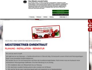 sanitaer-ehrentraut.de screenshot