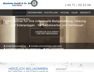 sanitaer-und-heizungs-shop.de screenshot