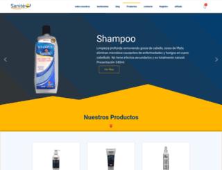 sanitecostarica.com screenshot