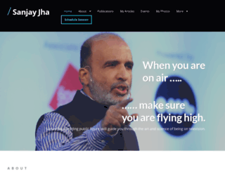sanjayjha.com screenshot