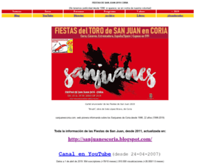 sanjuanescoria.com screenshot