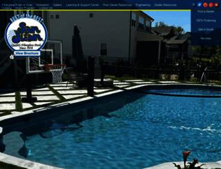 sanjuanpools.com screenshot