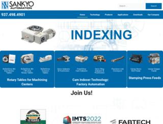 sankyoamerica.com screenshot