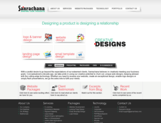 sanrachana.com screenshot
