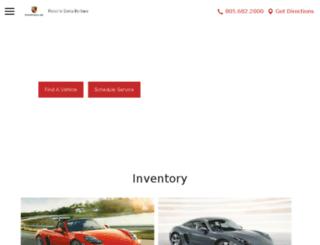 santabarbara.porschedealer.com screenshot