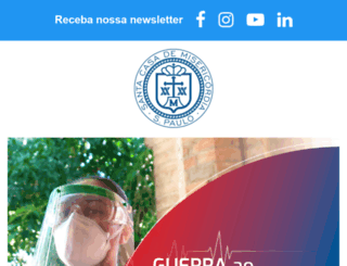 santacasasp.org.br screenshot