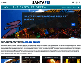 santafe.com screenshot
