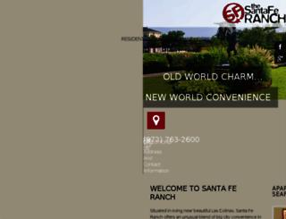 santaferanch-apts.securecafe.com screenshot