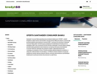 santanderbank.kredytgo.pl screenshot