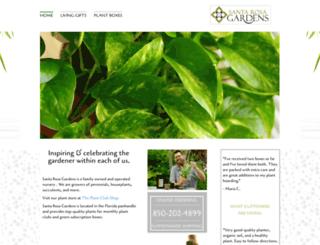 santarosagardens.com screenshot