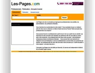 sante.les-pages.com screenshot