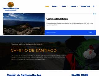 santiago-compostela.net screenshot