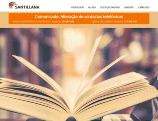 santillana.pt screenshot
