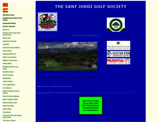 santjordigolf.com screenshot