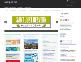 santjust.cat screenshot