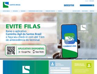 santosbrasil.com.br screenshot