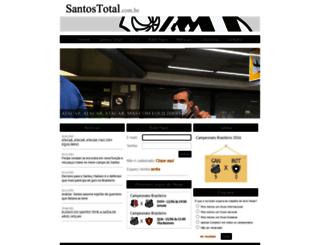 santostotal.com.br screenshot