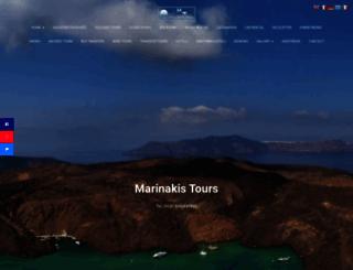 santotoursmarinakis.com screenshot