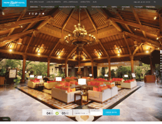 sanurparadise.com screenshot