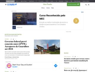 sao-paulo.estadao.com.br screenshot