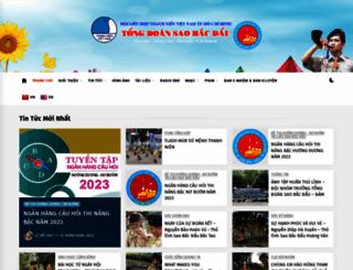 saobacdau.com.vn screenshot