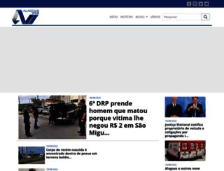 saomiguelweb.com.br screenshot
