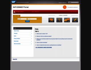 sap.mymeetingroom.com screenshot