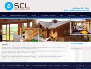sapeleconstruction.com screenshot