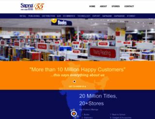 sapnaretail.com screenshot