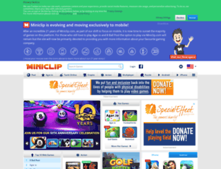 sapo.miniclip.com screenshot